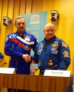 Mikhail Kornienko Scott Kelly
